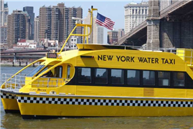 take a water taxi